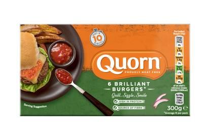 Quorn Brilliant Burgers
