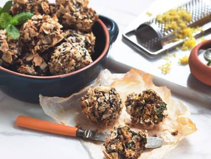 quorn mince & lentil meatball bites meat-free recipe