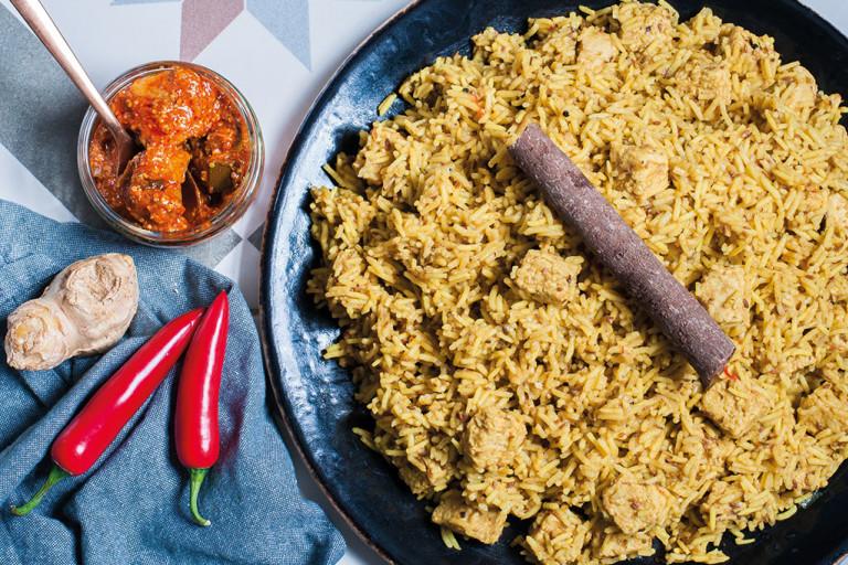Quorn Vegan Jollof Rice