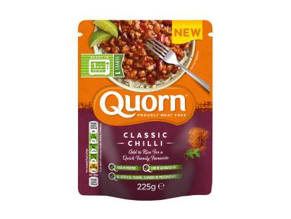 Quorn Classic Chilli Pouch packshot