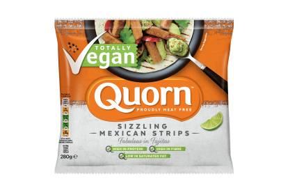 frozen Quorn Vegan Sizzling Mexican Strips