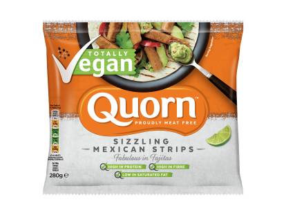 frozen Quorn Vegan Sizzling Mexican Strips