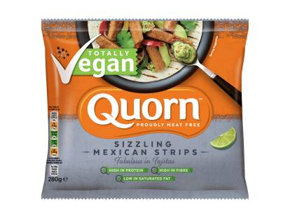 frozen quorn vegan fajita strips