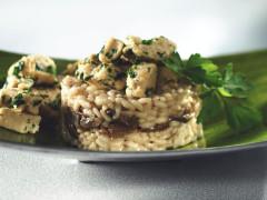 Recept voor Risotto met Eekhoorntjes Brood en WitteWijn