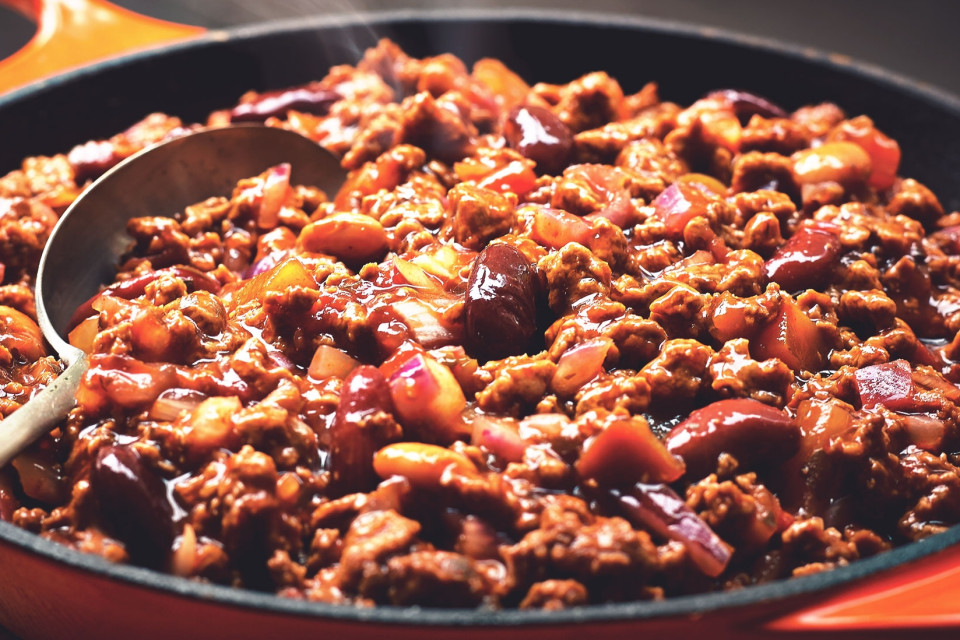 quick vegetarian meat free chilli con carne recipe quorn. Black Bedroom Furniture Sets. Home Design Ideas