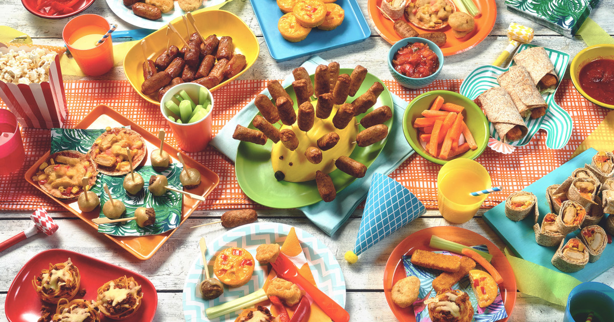Vegetarian Amp Vegan Party Food Ideas For Kids Quorn