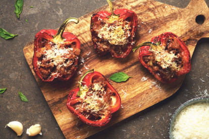 Quorn Meatless Stuffed Peppers