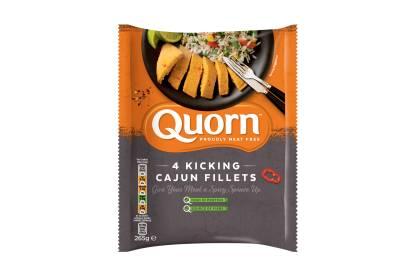 Quorn Kicking Cajun Fillets