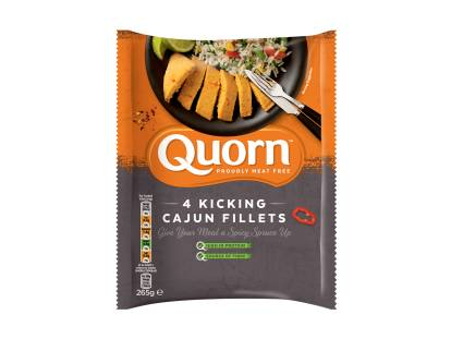 Quorn Kicking Cajun Fillets