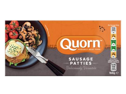 frozen meat free quorn sausage patties