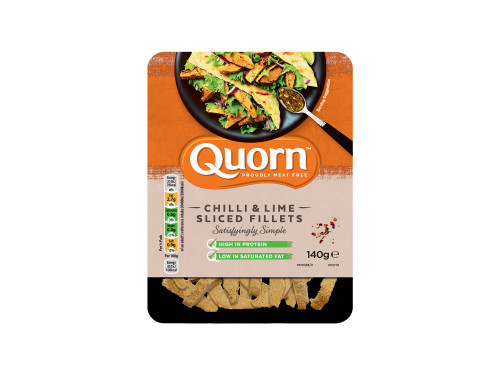 Quorn Chilli and Lime Sliced Fillets