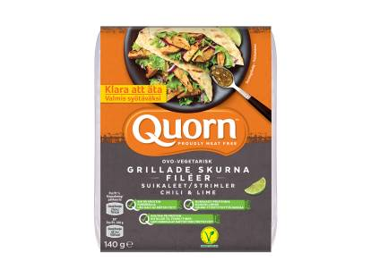 Quorn Grillade Skurna Filéer Chili & Lime