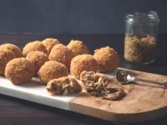 Bitterballen mit Quorn vegetarischem Hack
