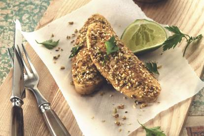 quinoa and dukkah quorn fillets vegetarian recipe