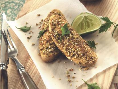 Quinoa and Dukkah Quorn Fillets