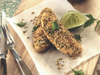 quinoa and dukkah quorn fillets vegetarian recipe