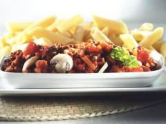 Recept voor Penne met Tomatensaus enBasilicum