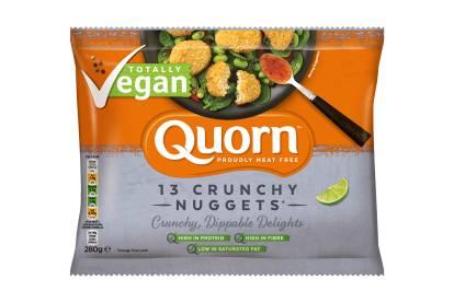 frozen quorn vegan nuggets