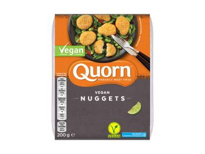 frozen quorn vegan nuggets