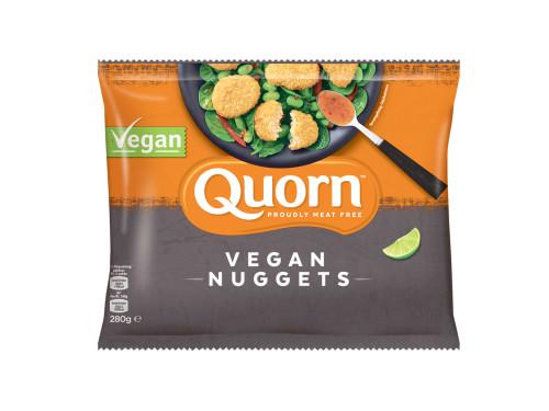 Quorn vegan nuggets