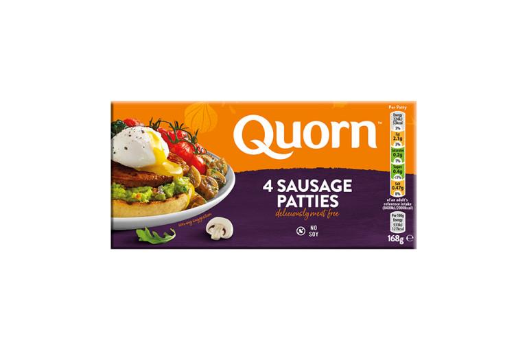 frozen meat free quorn sausage patties