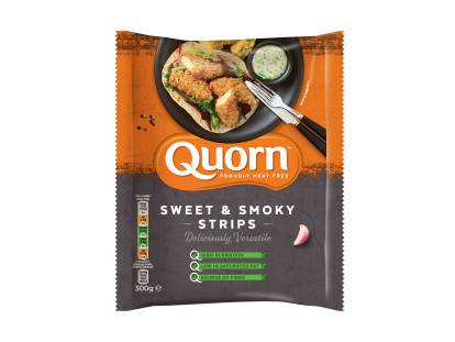 frozen meat free quorn sweet & smoky strips