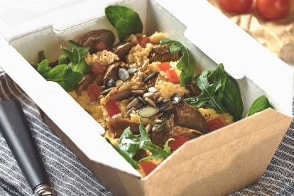 Quorn Breakfast Box