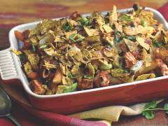 mexican quorn pieces pasta bake vegetarian recipe