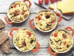 Quorn Swedish Style Ball with Mac & Cheese