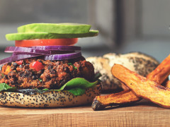 quorn mince mediterranean lentils veggie burger recipe
