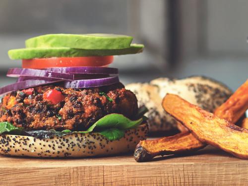 Quorn Meat Free Mediterranean Mince & Lentils Burgers