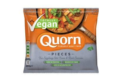 frozen quorn vegan pieces