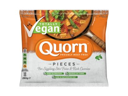 frozen quorn vegan pieces
