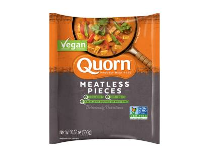 frozen quorn vegan meatless pieces