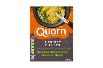 frozen meat free quorn crispy fillets