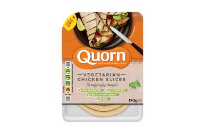 quorn vegetarian deli chicken slices