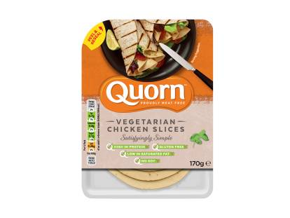 quorn vegetarian deli chicken slices