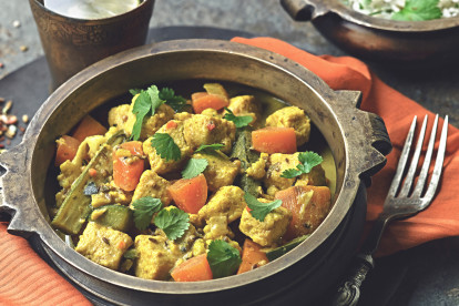 Keralan Curry with Quorn Meat Free Pieces