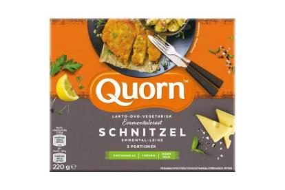 Quorn Ovo-Lakto-Vegetarisk Schnitzel med Emmentalerost