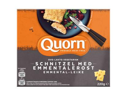 Quorn Schnitzel med Emmentalerost