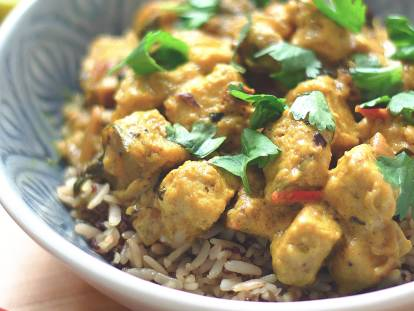 Quorn Lime and Coconut Vegan Curry