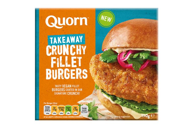 Quorn Crunchy Fillet Burger