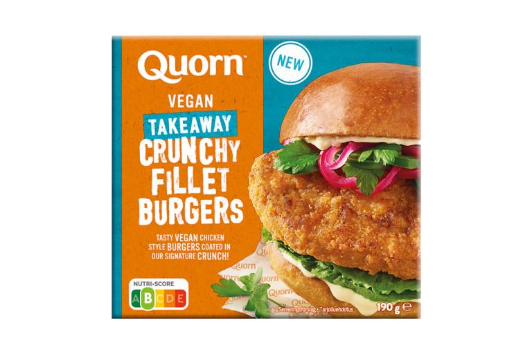 Quorn Vegan Crunchy Fillet Burger