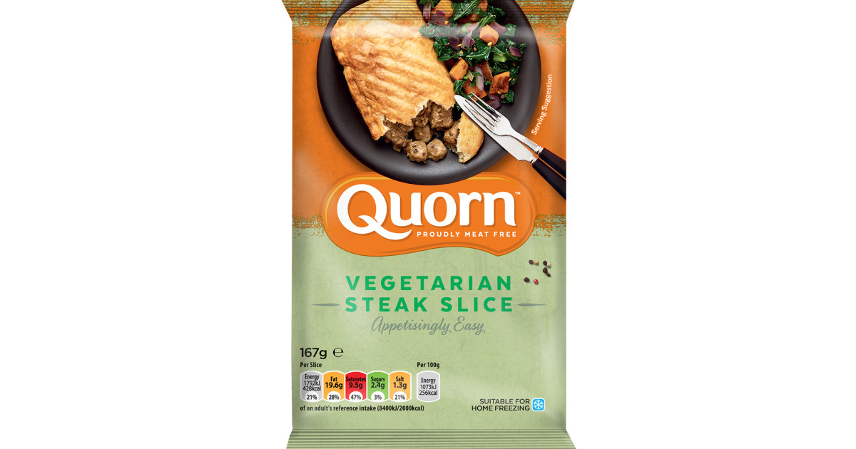 Vegetarian Steak Slice | Quorn