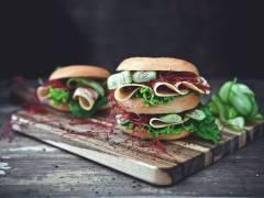 Quorn bagel med veganska skivor
