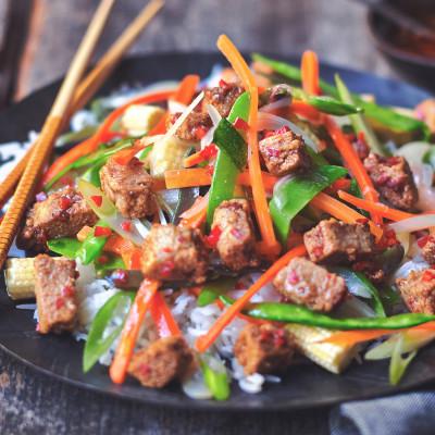 Quorn  Vegan Pieces Szechuan Stir Fry