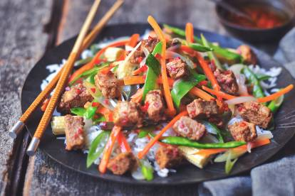 quorn vegan pieces szechuan stir fry recipe