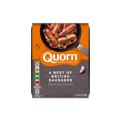 Quorn Meat Free Best of British Sausages