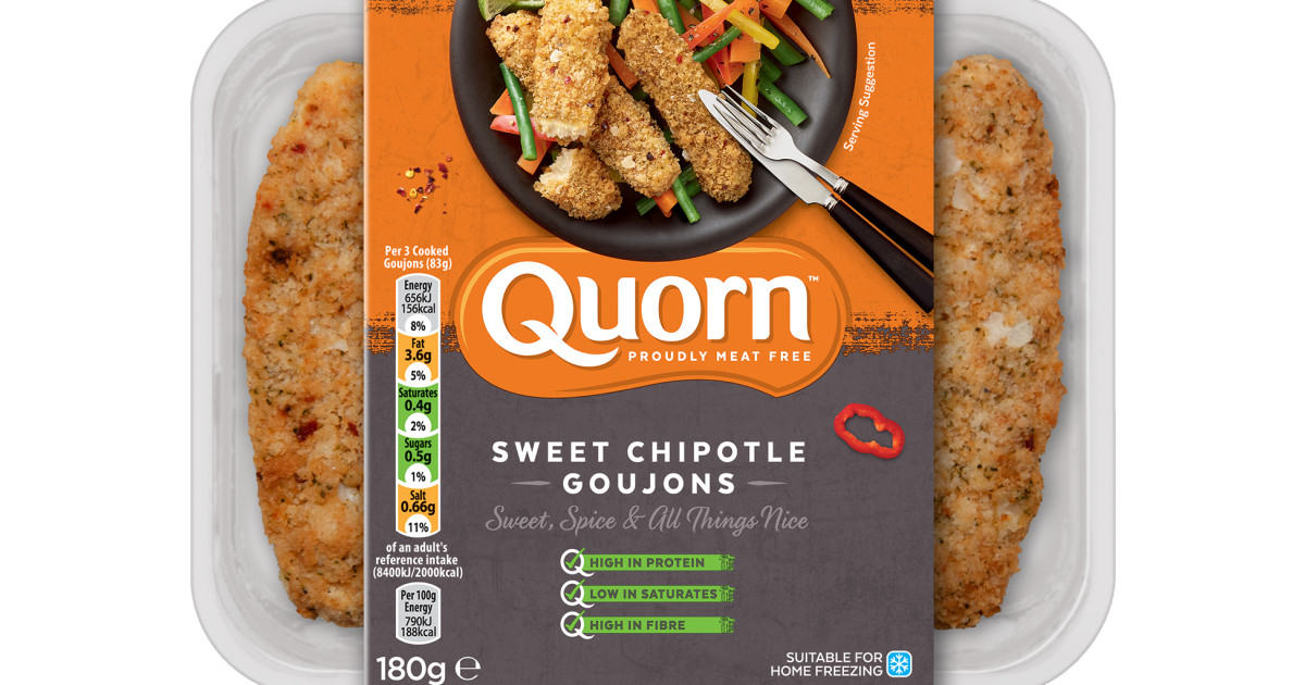 Sweet Chipotle Goujons Vegetarian Meal Quorn