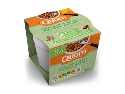 Quorn Mexican 3 Bean Wonder Grains